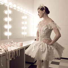 Backstage with Tyann Clement (slight clutter) Tags: portrait ballet dance ballerina houston dancer backstage soloist houstonballet tyannclement