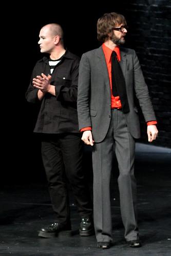 Gavin Friday and Jarvis Cocker