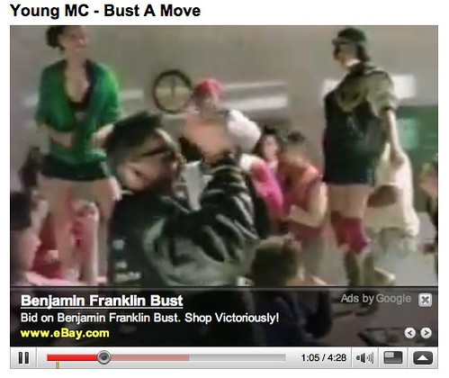youtube bust a move young