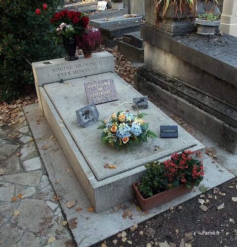 Simone Signoret et Yves Montand - acteurs