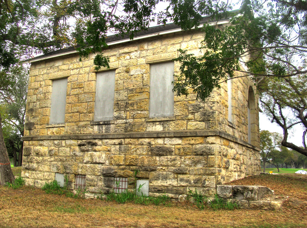 Gutzon de la Mothe Borglum abandoned winter studio in san antonio tx (The creator of Mount Rushmore.)