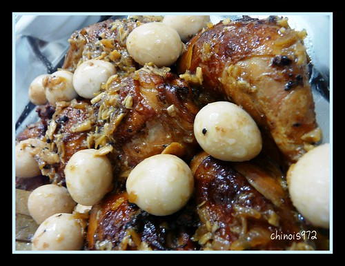 how to cook chicken adobo with egg