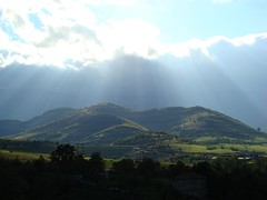 Rain, sky and sun (The Traveling Frog - Rossitza and Stevan Olson) Tags: nature rocks bulgaria rockformation trip2007 ecobulgarianorthwesternbulgariatrip2007naturerocksrockformationecotourismeuropeeasterneuropebalkanseubulgarianorthwesternbulgariatrip2007naturerocksrockformationecotourismeuropeeasterneurope northwesternbulgaria