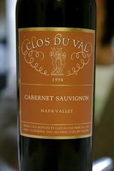 1994 Clos Du Val Napa Valley Cabernet Sauvignon