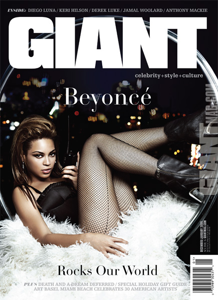 beyonce GIANT MAGAZINE COVER