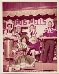 You Traveled Many Miles (for a Heavy Metal Show) (wackystuff) Tags: guitar band banjo wells cowgirl accordian foundphoto ardis