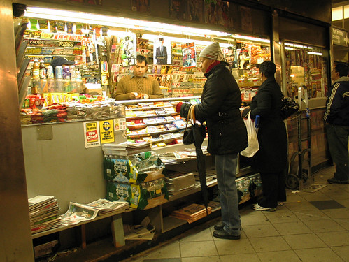 Newstand, 59th Street