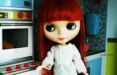 Louison fait la cuisine chez Lili