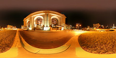 Spherical Photograph of the Union Train Station in Kansas City, Missouri