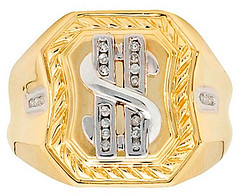 500 gift guide dollar sign ring (Sterin) Tags: giftguide under500