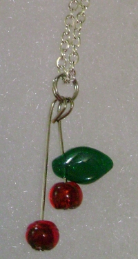 Cherries Pendant