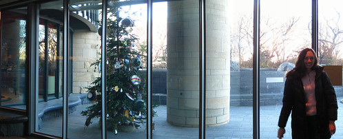 Christmas Tree Panorama: American Indian Museum