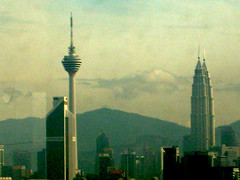 the twin towers kl (Post it note.....) Tags: towers twin kl