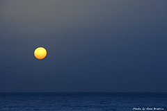 Ocean Blue (anbri22) Tags: ocean blue sea sun sunrise dawn mare alba blu canarias canary sole oceano maspalomas canarie anbri