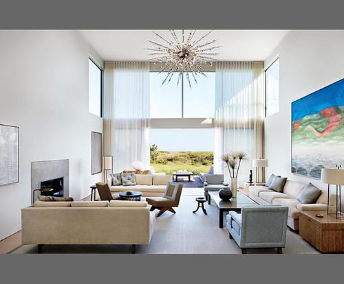 Modern Living Room , Light-filled living room