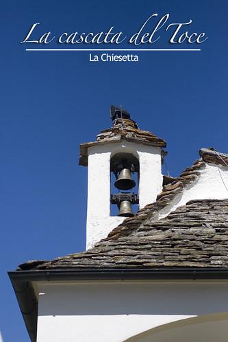La chiesetta della Cascata del Toce