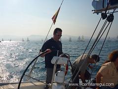 Una buena salida es media regata :-)