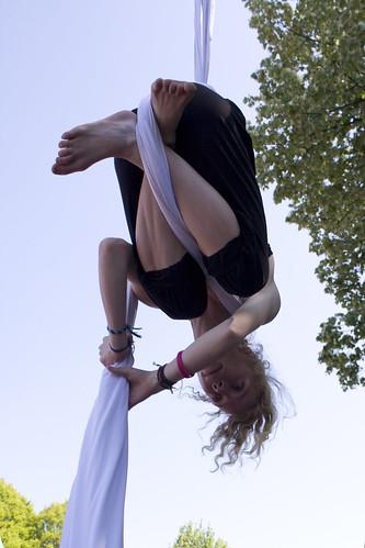 Cirkus in Beweging - luchtacrobatie
