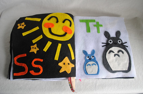 S is for Sun and Stars, T is for Totoro