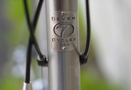 Seven Cycles Headbadge
