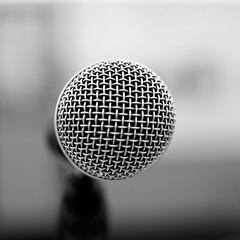 Rock the mic.