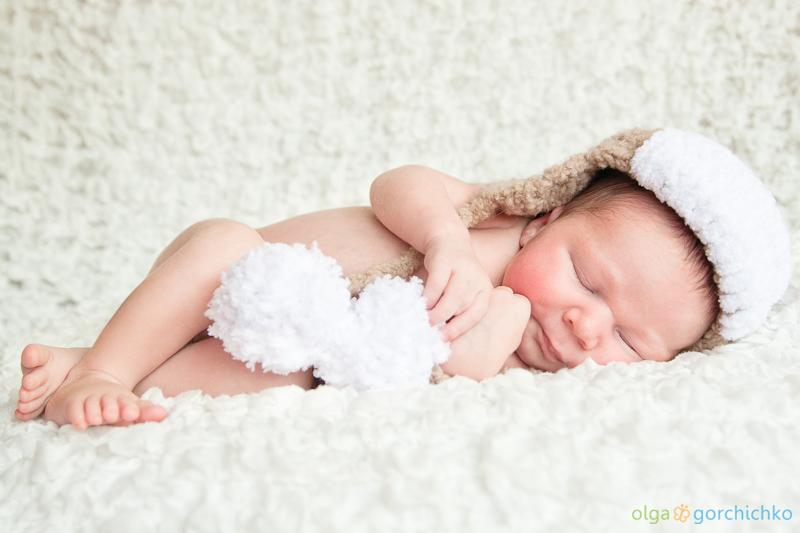 Лёвушка. Фотографирование новорожденных Гродно