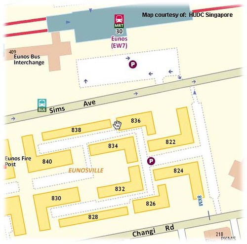 Eunos_Ville_Map