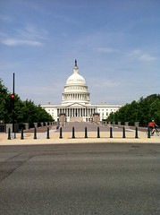 Beautiful day at our nation's capital as guests begin to arrive for the conference.