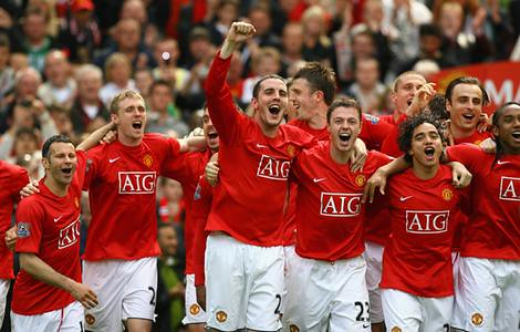 premier league 2011 Manchester United