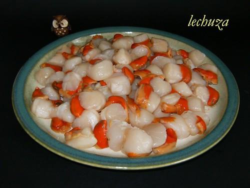 Empanada de maiz-zamburiñas.