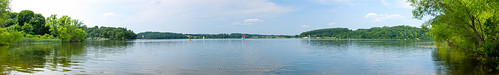 Marsh Creek Reservoir looking North (Panorama 01)