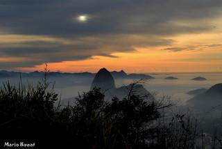 Amanhecer Nublado no Rio de Janeiro