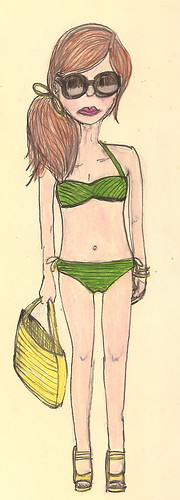 Beach Chic Illustration