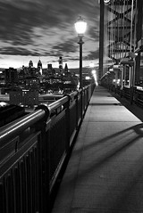 Ben Franklin Bridge (Brett Cohen) Tags: bridge blackandwhite franklin ben philly benfranklinbridge phila aplusphoto betterthangood