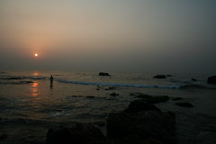 My perspective! (harsha_ganjam) Tags: sea sun sunlight seascape sunrise thinking vizag vishakapattanam