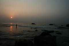 My perspective! (harsha_ganjam) Tags: sea sun sunlight seascape sunrise thinking vizag vishakapattanam