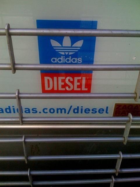 adidas and DIESEL