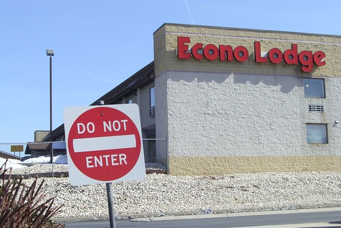 Econo Lodge - Do Not Enter by carolclarinet.