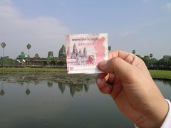 Angkor Wat and money