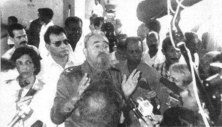 Fidel Castro. 1993