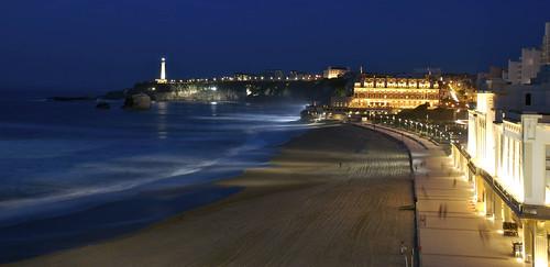 La sorpresa inesperada. Biarritz.
