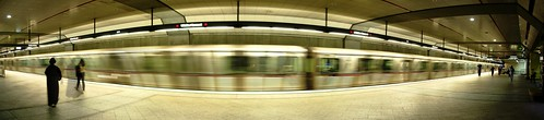 The Metro in Los Angeles, California, USA