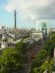 West End from Euston (Manuel.A.69) Tags: city uk panorama building london skyline architecture yahoo google flickr cityscape view corridor geography townscape londra londonskyline geographie appert lignedhorizon panoramadelondres manuelappert