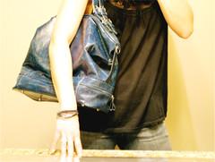 prada bag girl