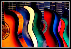 Guitarras Angelinas por @pukka~amaru
