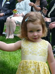 charlotte walks as flower girl (alist) Tags: family alist robison alicerobison ajrobison