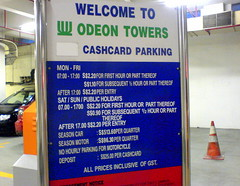 Odeon Towers Parking - May 2008