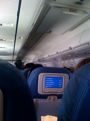 Packed Overhead Bins