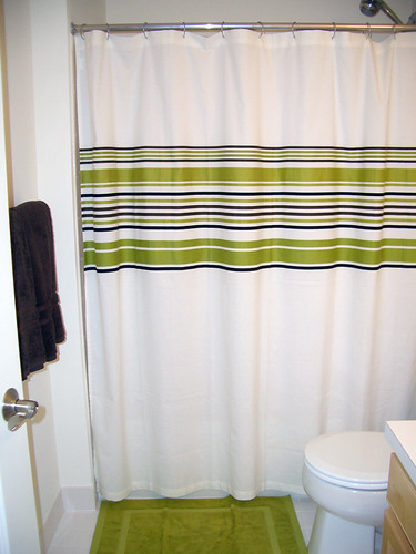 CB2 Shower Curtain