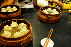 Xiaolongbao in 南翔馒头店 Nanxiang Mantou Dian in 豫园 Yu Yuan